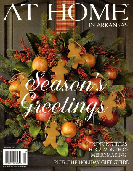 At Home In Arkansas Cover - 12/1/2013