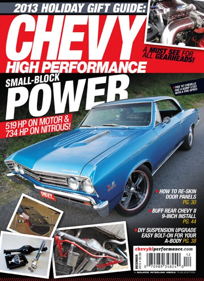 Chevy High Performance Cover - 12/1/2013