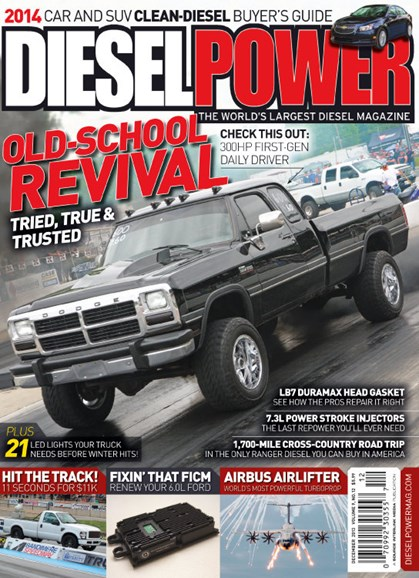 Diesel Power Cover - 12/1/2013