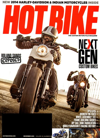 Hot Bike Cover - 12/1/2013