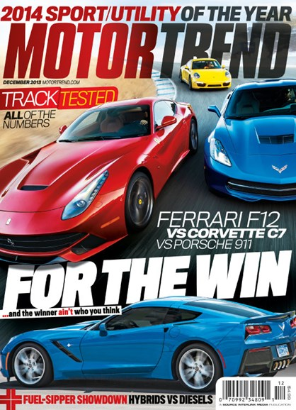 Motor Trend Cover - 12/1/2013