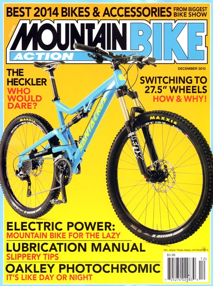 Mountain Bike Action Cover - 12/1/2013