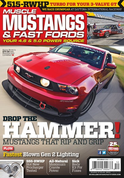 Muscle Mustangs & Fast Fords Cover - 12/1/2013