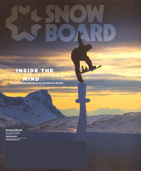Snowboard Cover - 12/1/2013