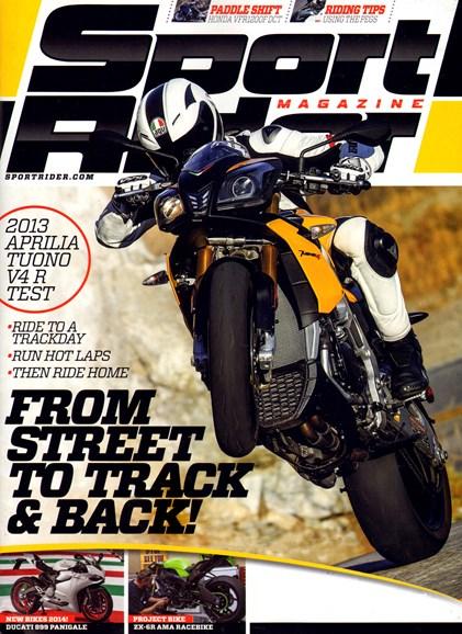 Sport Rider Cover - 12/1/2013