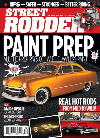 Street Rodder Cover - 12/1/2013