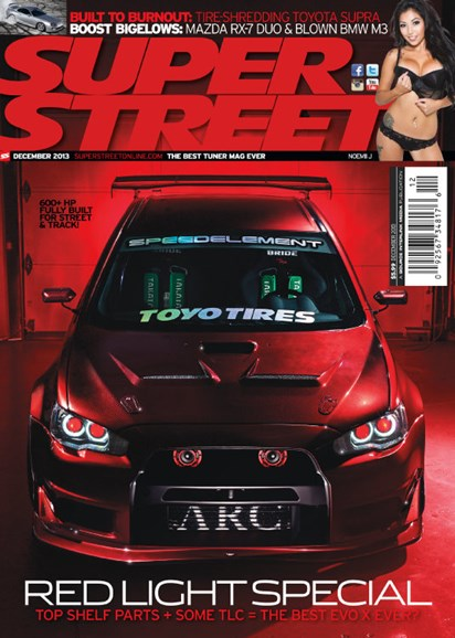 Super Street Cover - 12/1/2013
