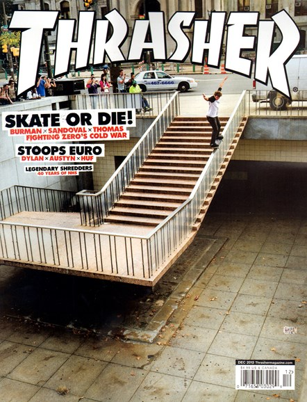 Thrasher Cover - 12/1/2013