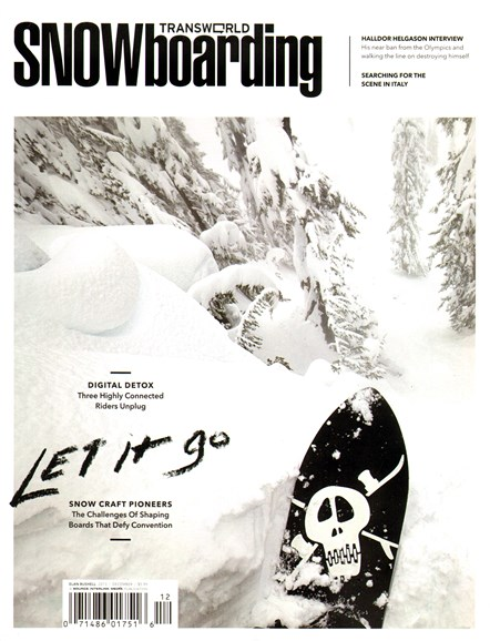 Transworld SNOWboarding Cover - 12/1/2013