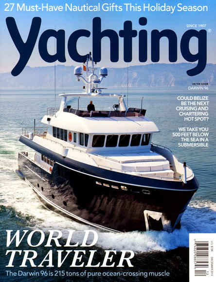 Yachting Cover - 12/1/2013