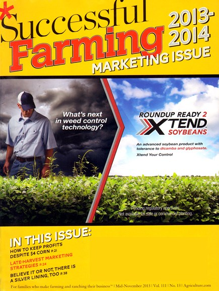 Successful Farming Cover - 11/15/2013