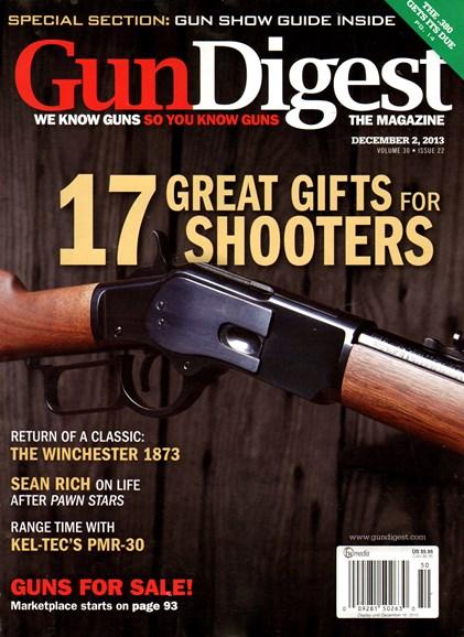 Gun Digest Cover - 12/2/2013