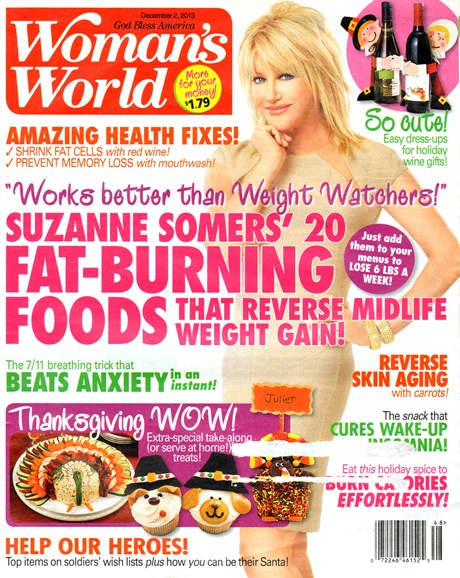 Woman's World Cover - 12/2/2013
