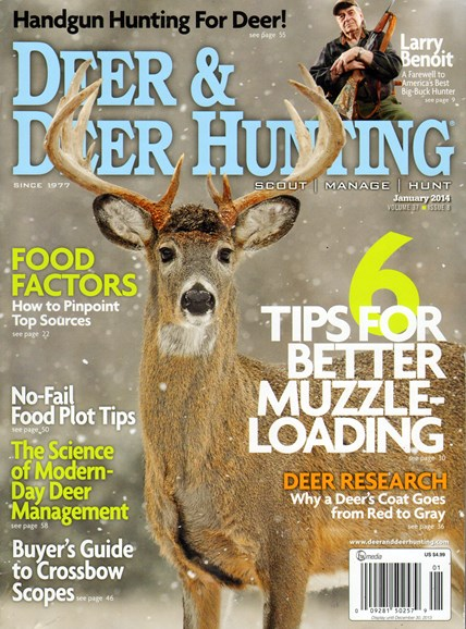 Deer & Deer Hunting Cover - 1/1/2014