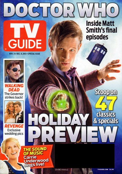 TV Guide Cover - 11/25/2013