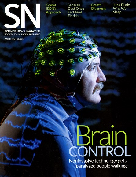 Science News Cover - 11/16/2013