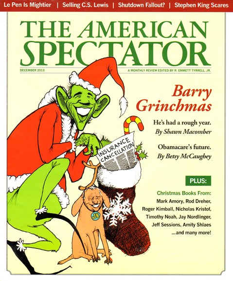 The American Spectator Cover - 12/1/2013