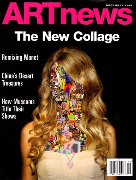 ARTnews Cover - 12/1/2013