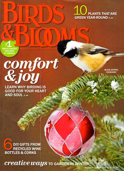 Birds & Blooms Cover - 12/1/2013