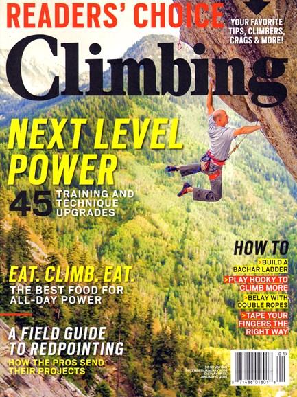 Climbing Magazine Cover - 12/1/2013