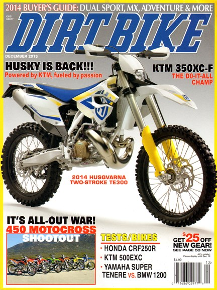 Dirt Bike Cover - 12/1/2013