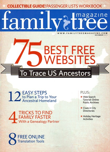 Family Tree Cover - 12/1/2013