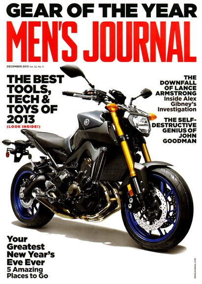 Men's Journal Cover - 12/1/2013