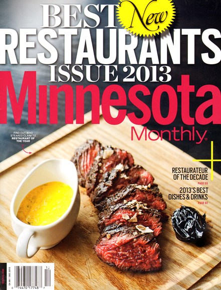 Minnesota Monthly Cover - 12/1/2013