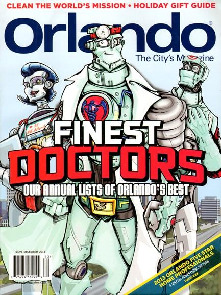 Orlando Magazine Cover - 12/1/2013