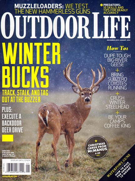 Outdoor Life Cover - 12/1/2013
