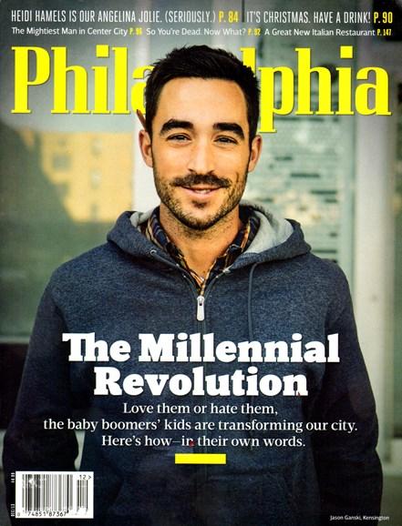 Philadelphia Magazine Cover - 12/1/2013