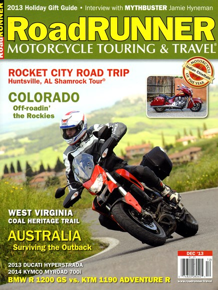 Road RUNNER Motorcycle & Touring Cover - 12/1/2013