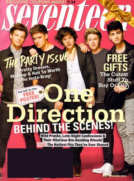 Seventeen Cover - 12/1/2013