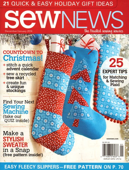 Sew News Cover - 12/1/2013