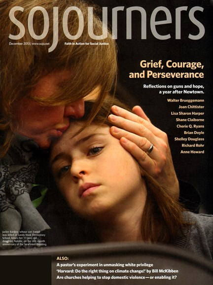 Sojourners Cover - 12/1/2013