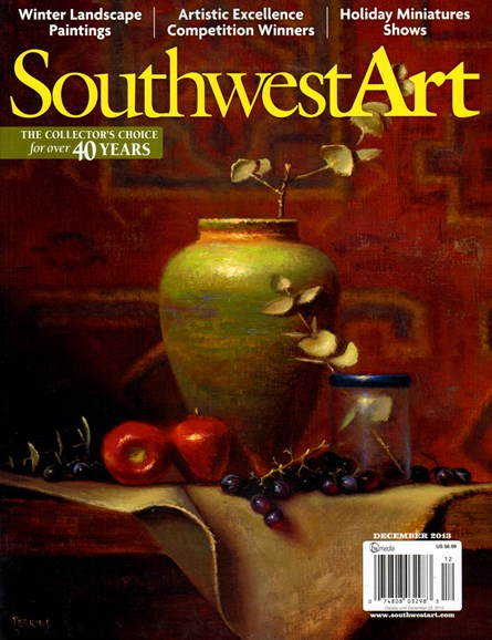 Southwest Art Cover - 12/1/2013