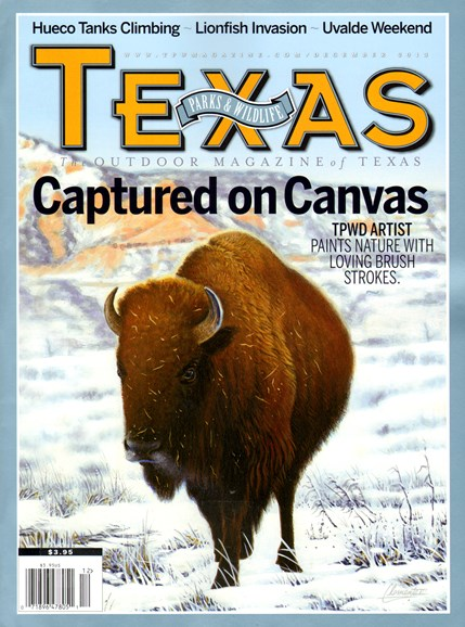 Texas Parks & Wildlife Cover - 12/1/2013
