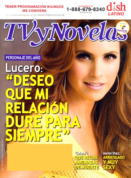 Tv Y Novelas Cover - 12/1/2013