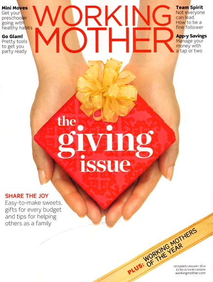 Working Mother Cover - 12/1/2013