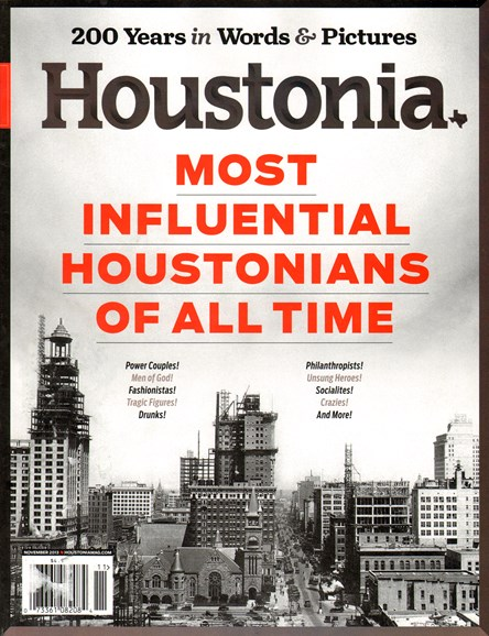 Houstonia Cover - 11/1/2013