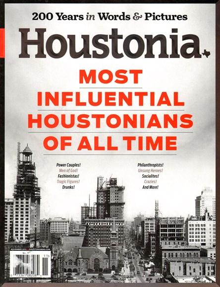 Houstonia Cover - 11/1/2013