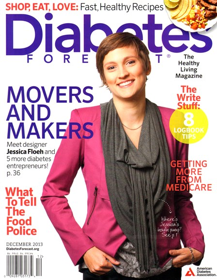 Diabetes Forecast Cover - 12/1/2013