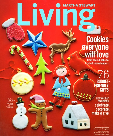Martha Stewart Living Cover - 12/1/2013