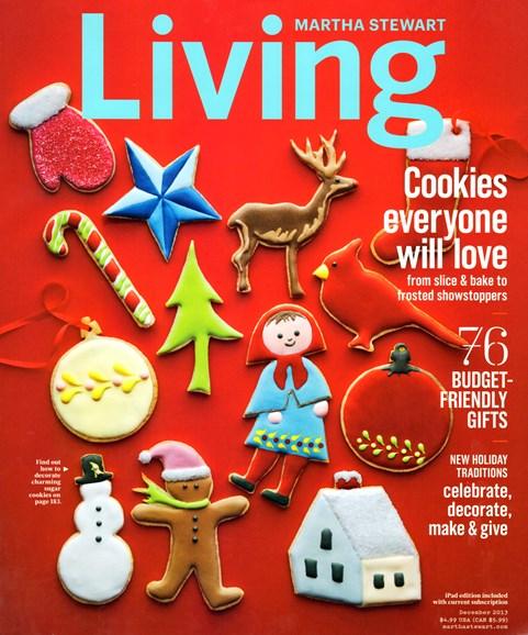 Martha Stewart Living Cover - 12/1/2013