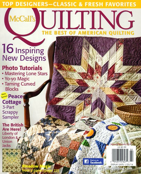 McCall's Quilting Cover - 1/1/2014