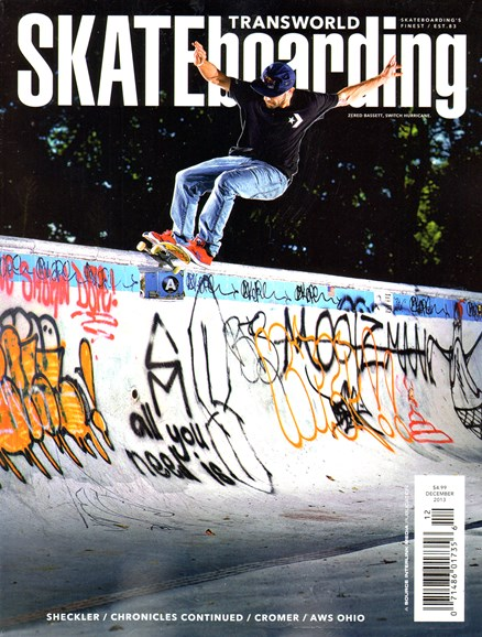 Transworld SKATEboarding Cover - 12/1/2013