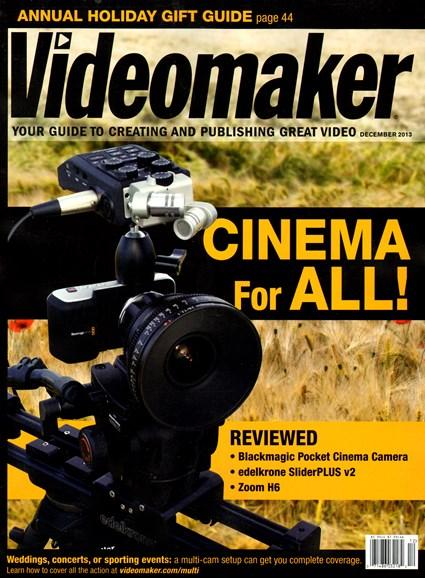 Videomaker Cover - 12/1/2013