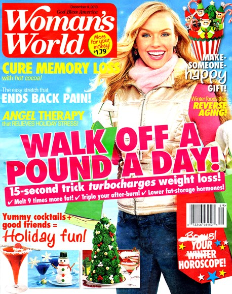 Woman's World Cover - 12/9/2013