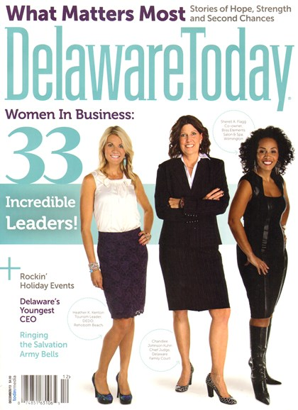 Delaware Today Cover - 12/1/2013
