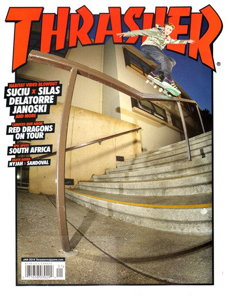 Thrasher Cover - 1/1/2014